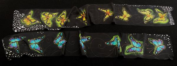 "8"" x 60""  Butterfly scarf"