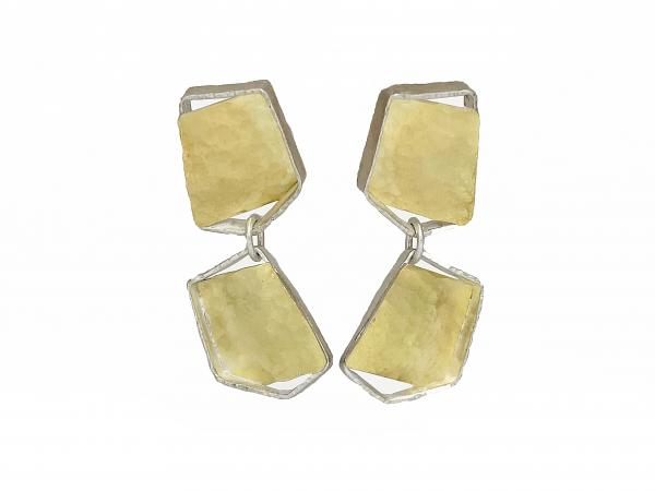 Bouncing Links Earrings (L)