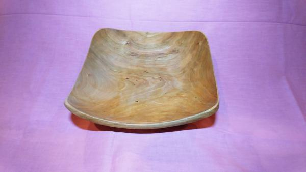 Oval cut off cherry bowl