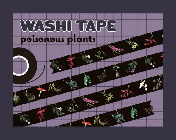 Poisonous Plants Washi