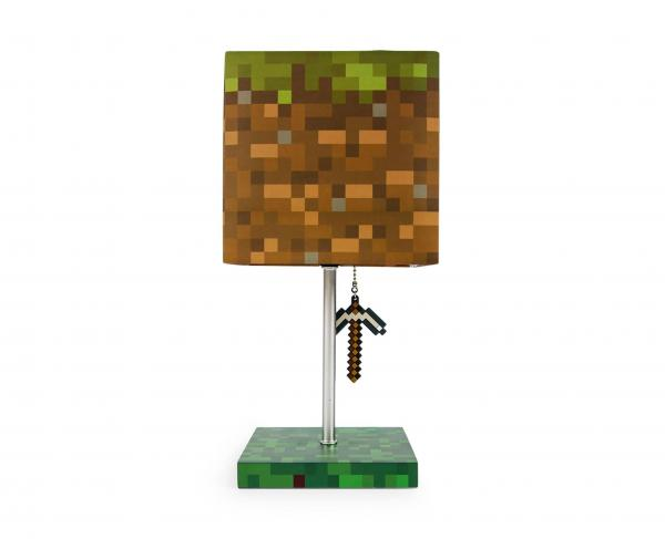 Minecraft Grass Block 14 Inch Desk Lamp
