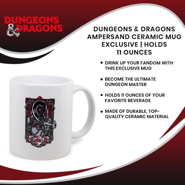 Dungeons & Dragons Ampersand 11 Ounce Ceramic Mug picture