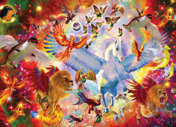 Mythical Menagerie 1000 Piece Jigsaw Puzzle