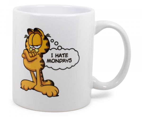 Garfield I Hate Mondays 11 Ounce Ceramic Mug