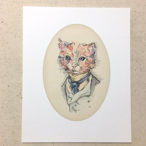 Bartholomeow Cat print picture