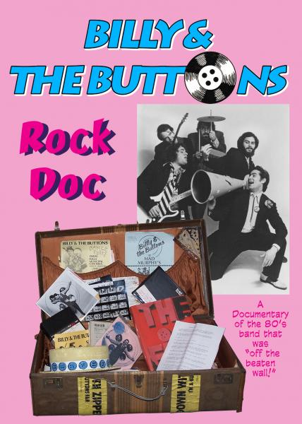 Billy & the Buttons Rock Doc - dvd