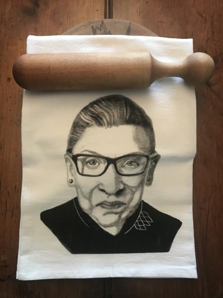 TEA TOWEL RUTH BADER GINSBURG !!! picture