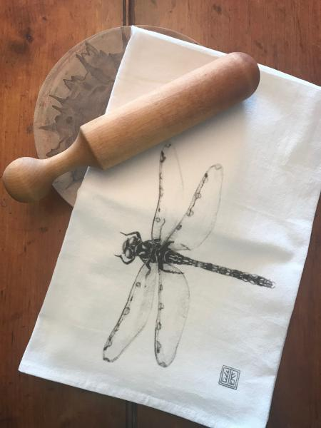 TEA TOWEL DRAGON FLY