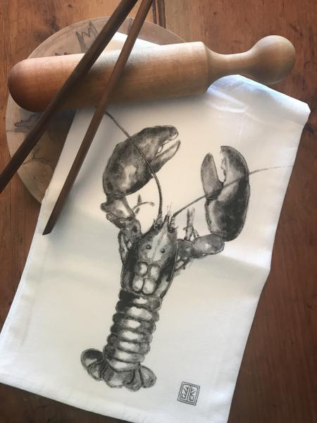 TEA TOWEL LOBSTER