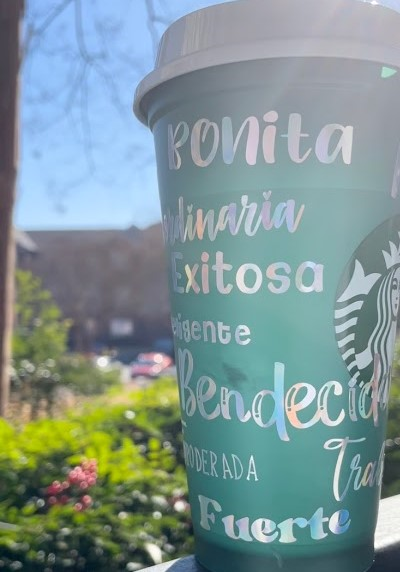 Latina Mamacita Starbucks Coffee Cup picture