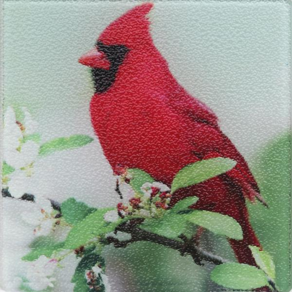 Northern cardinal trivet picture