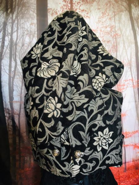 Hooded Bolero Vest (one of a kind) picture