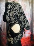 Hooded Bolero Vest (one of a kind)
