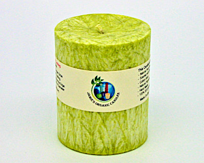 "3"" x 4"" Round - Lime Basil"