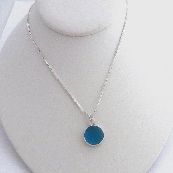 Turquoise Sea Glass Necklace picture