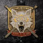 "The Witcher Antique Gold Metal Lapel Pin ""Kaer Morhen School of the Wolf"""