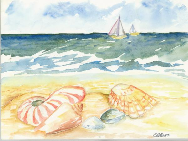 Beach Sea and Sail