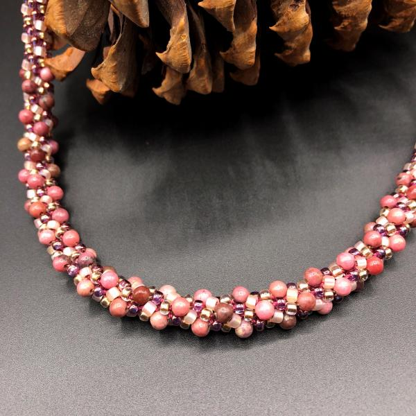 Kumihimo Necklace #81364 picture