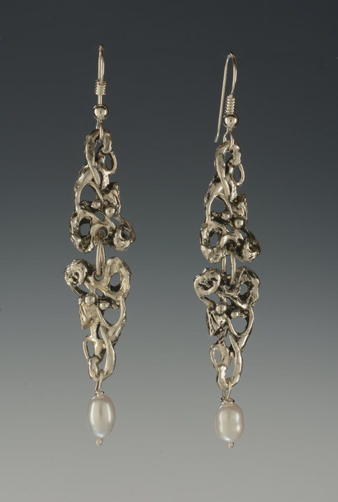 #564E Double Floral Earrings picture