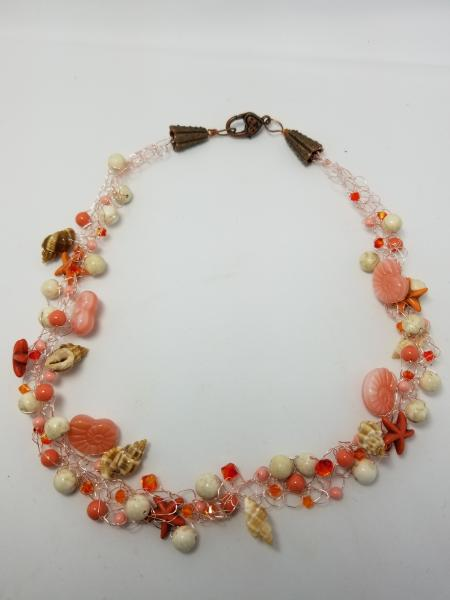 Coral and Shells Wire Crochet picture