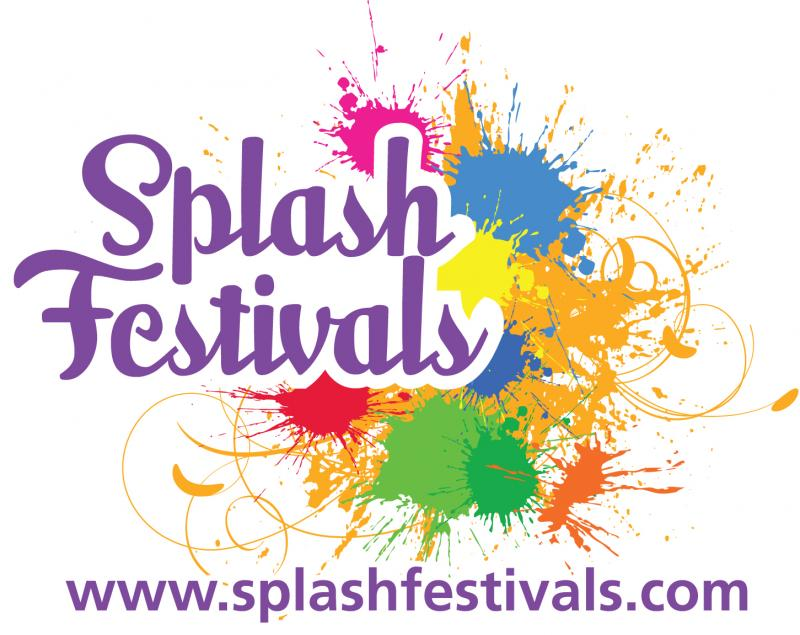 Splash Festivals in collaboration with the City of Brookhaven and Eventeny logo