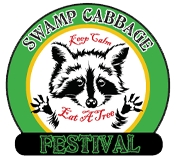Swamp Cabbage Festival logo