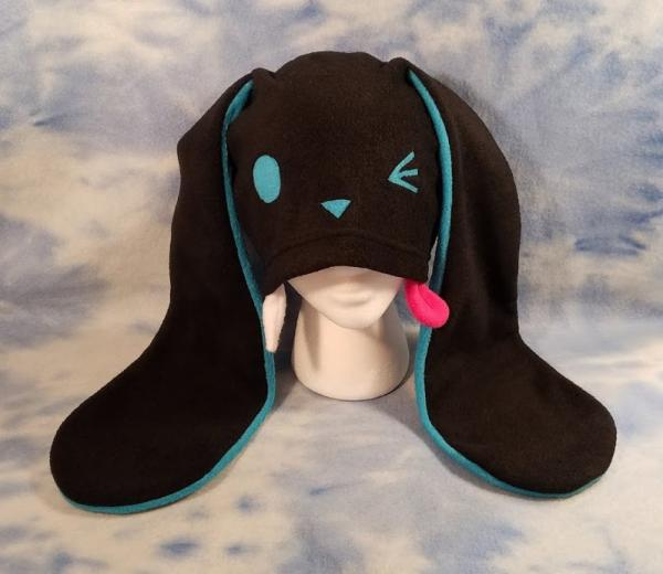 Blue Derpy Bunny Hat