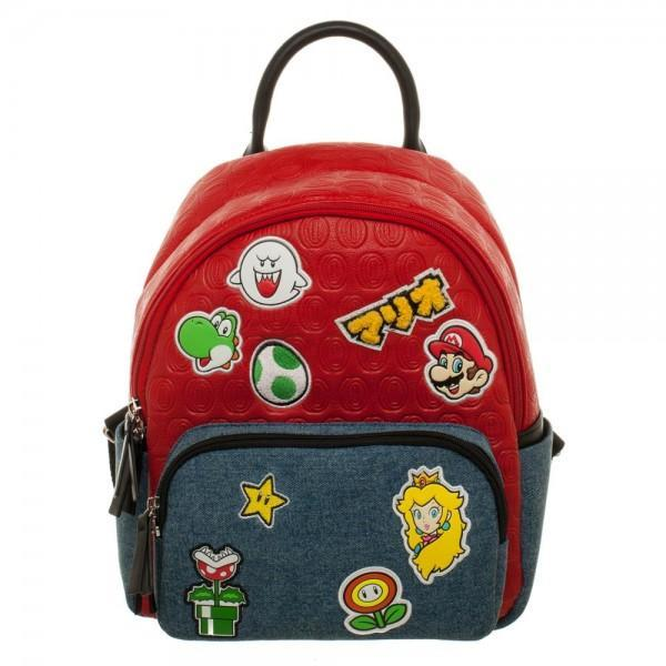 Small Mario Brothers Leather backpack