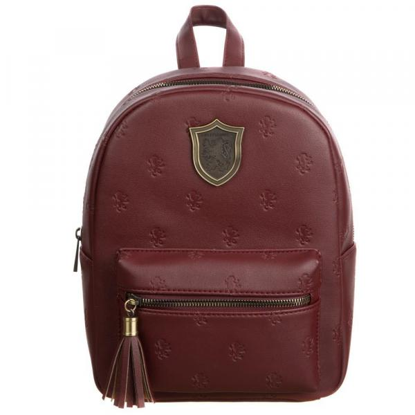 Small Leather Gryffindor Backpack