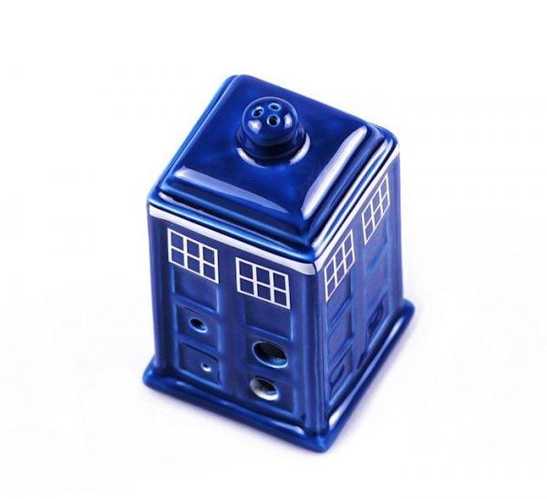 Doctor Who 6 Hole Tardis Ocarina