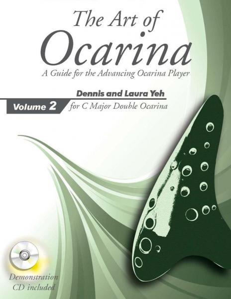 The Art of Ocarina Volume 2 for C Major Double Ocarina