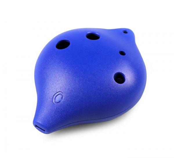 6 Hole Plastic Ocarina in C Major for Beginners (blue)