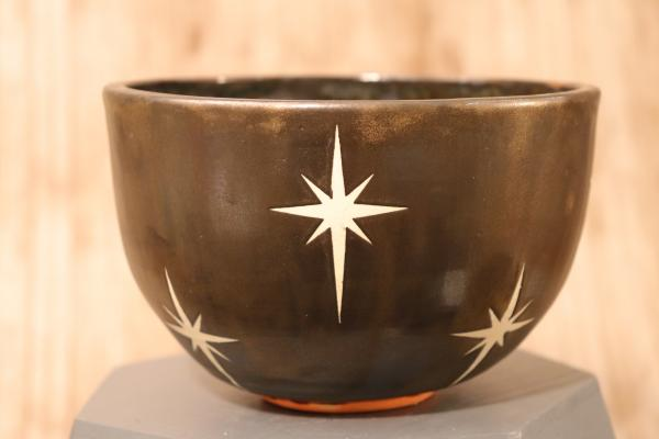Retro Star Burst Bowl