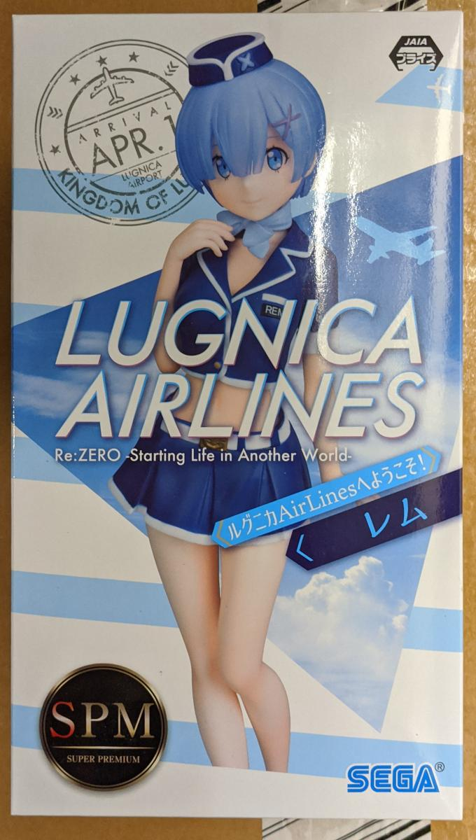 Re:Zero Starting Life in Another World Rem Lugnica Airlines