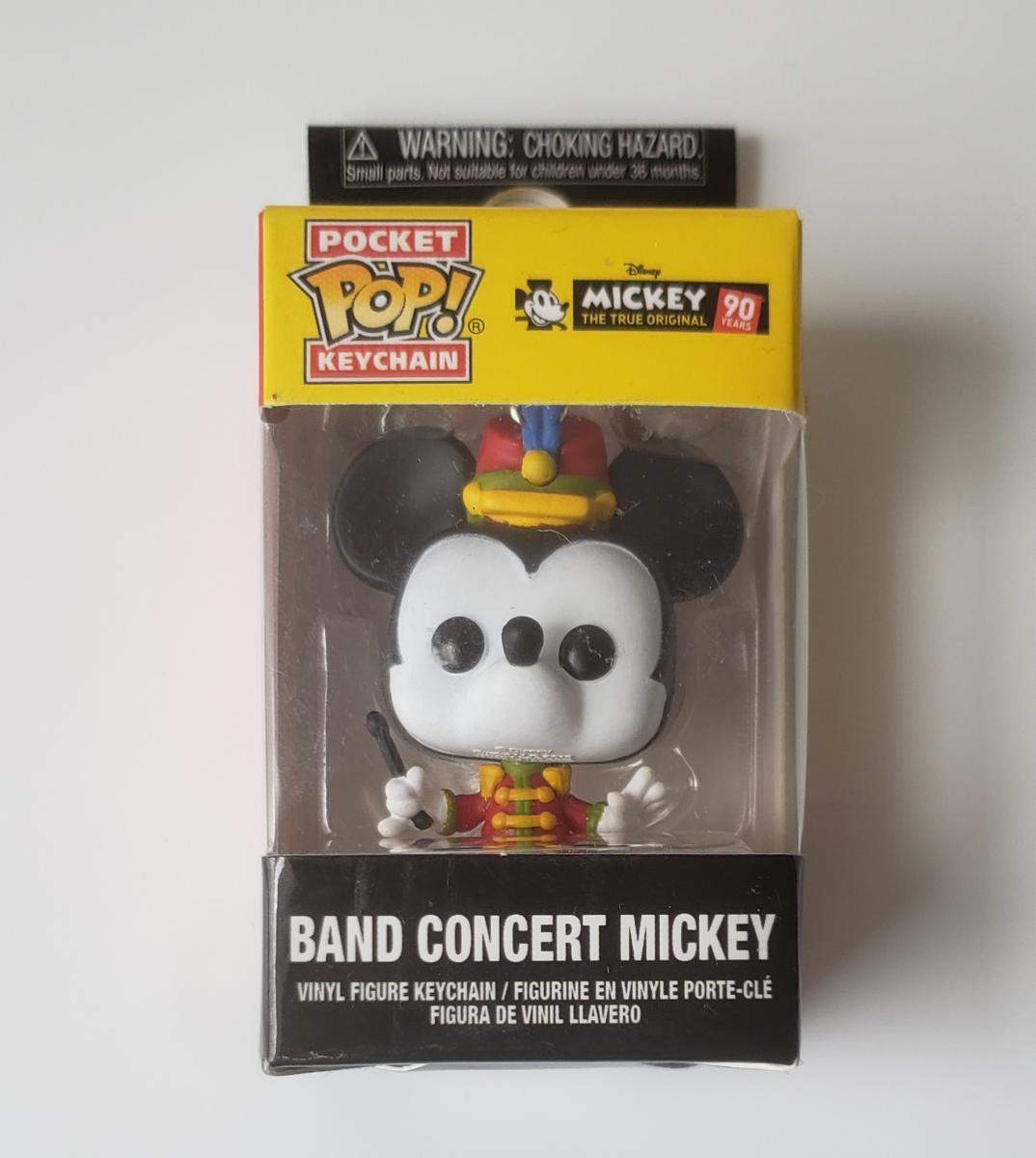 Mickey Mouse Pop Keychain