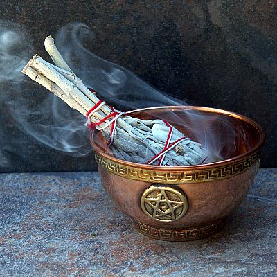 Pentacle Copper Bowl - BOL-90007 picture
