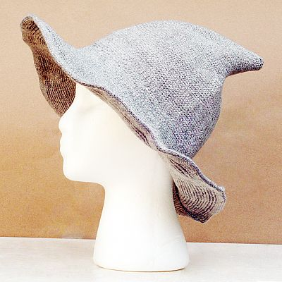 Light Grey Witch Hat - HAT-WLG picture