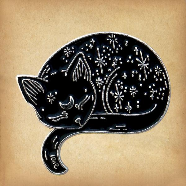 Star Cat Enamel Pin - PIN-036