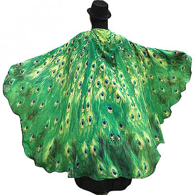 Peacock Feather Fairy Wings - WNG-PEA