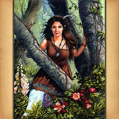 Within the Woods Cross Stitch Pattern - SHW-423