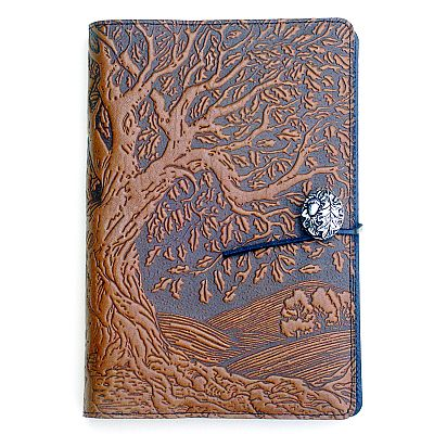 Large Ancient Oak Tree Leather Journal - LLJ-M17