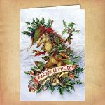 Mr. Hedgely Yule Card - CRD-BY27