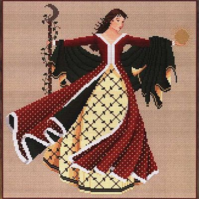 Dance of the Winter Solstice Cross Stitch Pattern - SWW-408