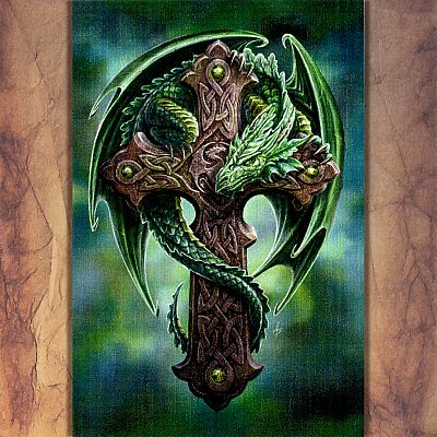 Woodland Guardian Cross Stitch Pattern - SHS-102 picture