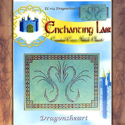 Dragonheart Cross Stitch Pattern - SEL-902 picture