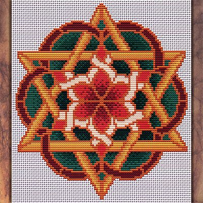 Christmas Star Cross Stitch Pattern - SIA-479 picture