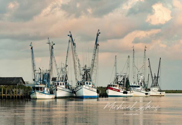 Shrimp Boats of Darien