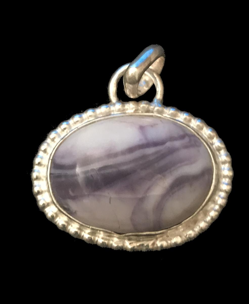 Purple Opal Pendant #2