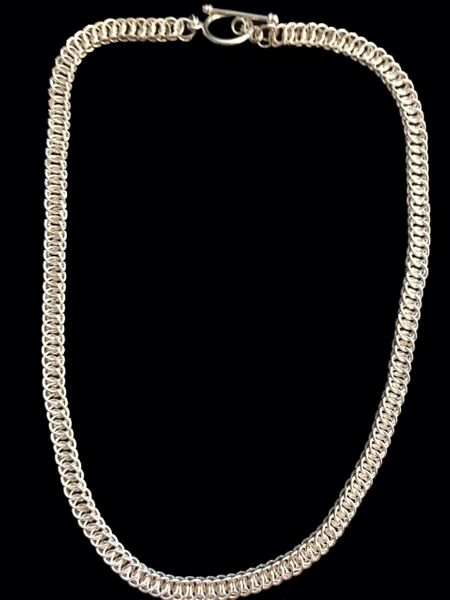 Half Persian 4 in 1 Sterling Silver Chain