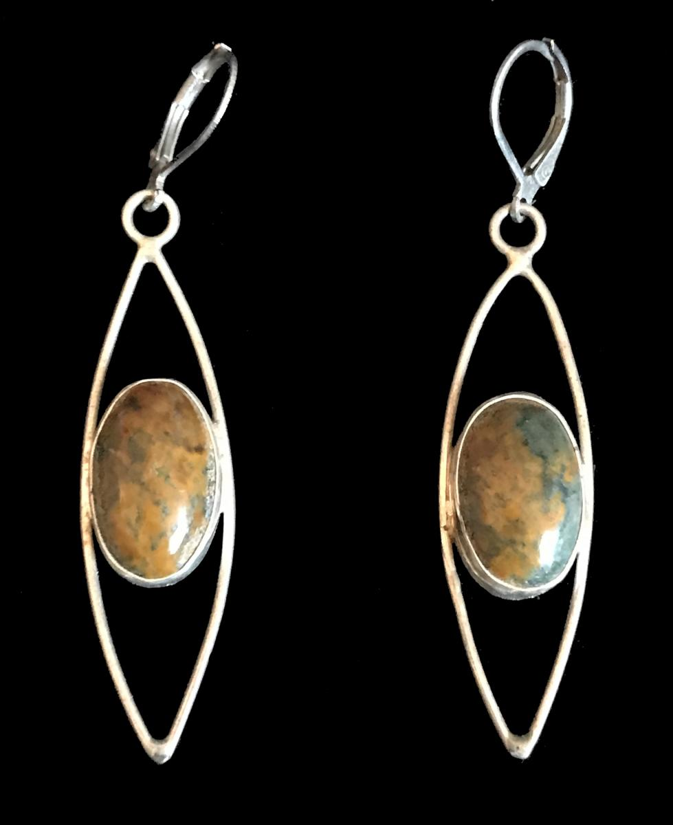 Orpheus Jasper Earrings #1